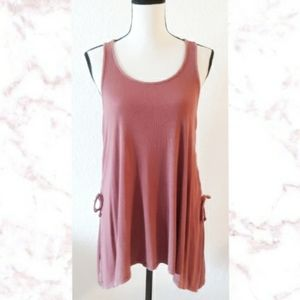 AEO Lace Up Side Tank Top